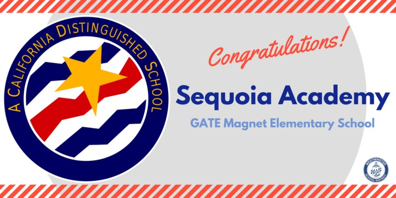 Sequoia Academy Named Distinguished School