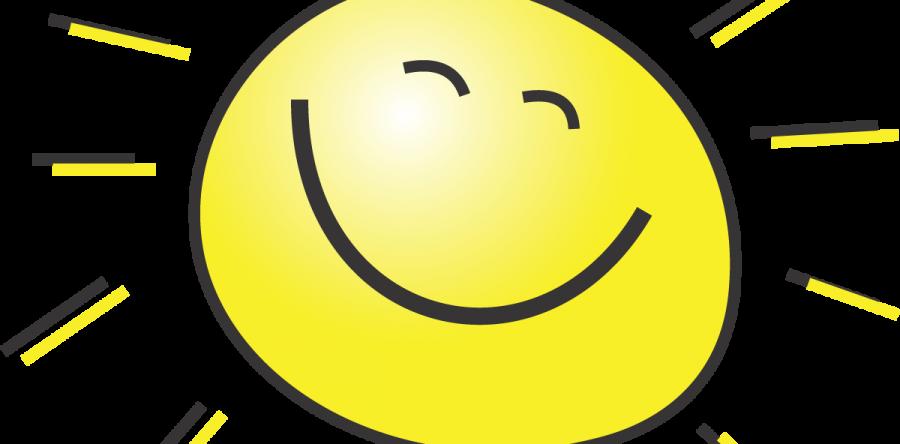 Large smiling sun