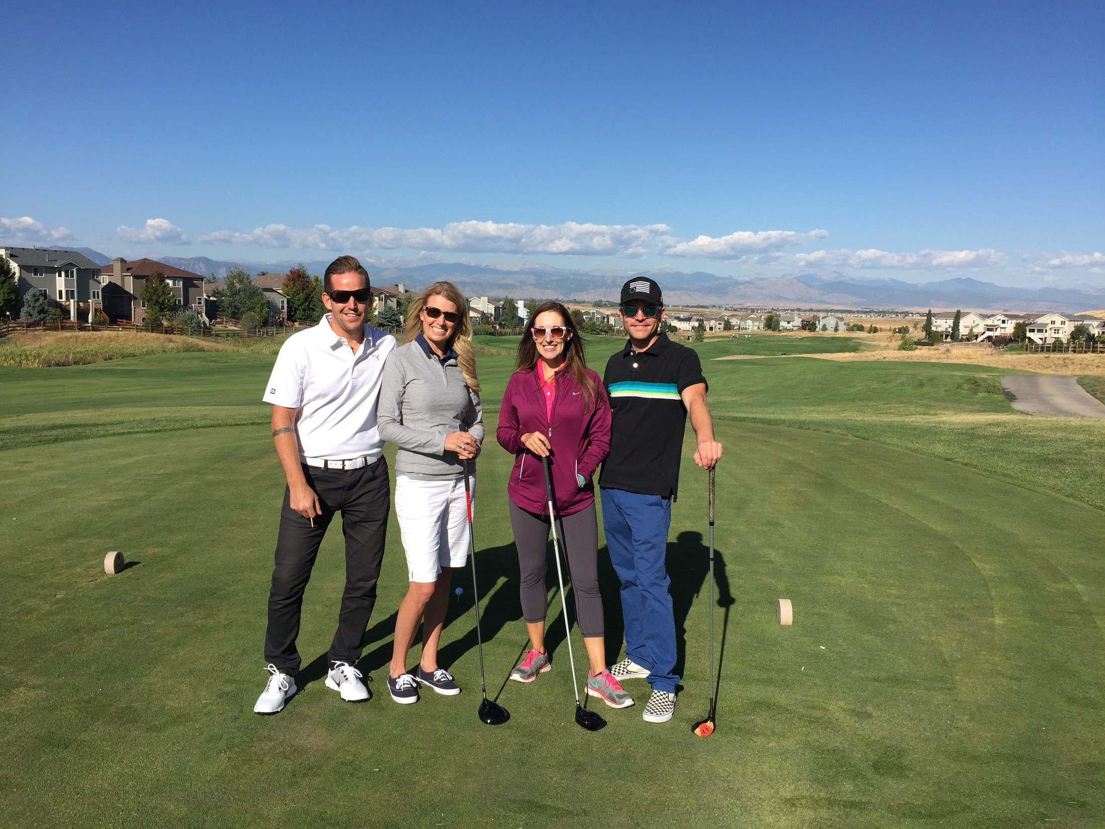 PRA Family in Colorado National Golf Course