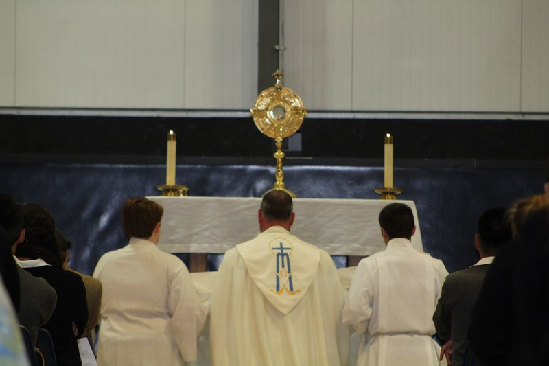 Adoration at MSHS Featured Photo