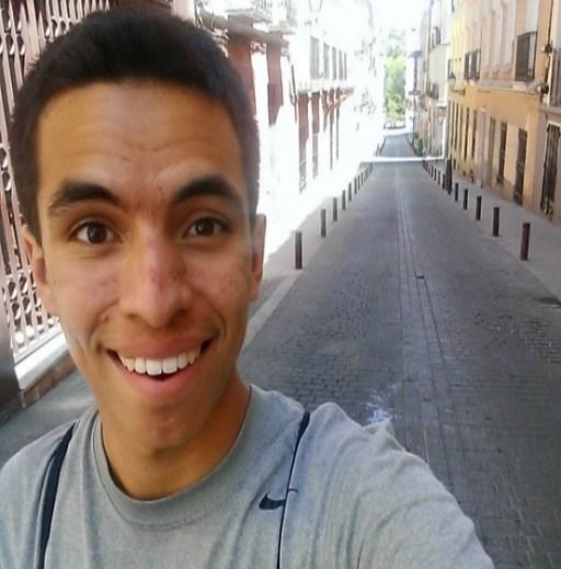 David Tenorio smiling