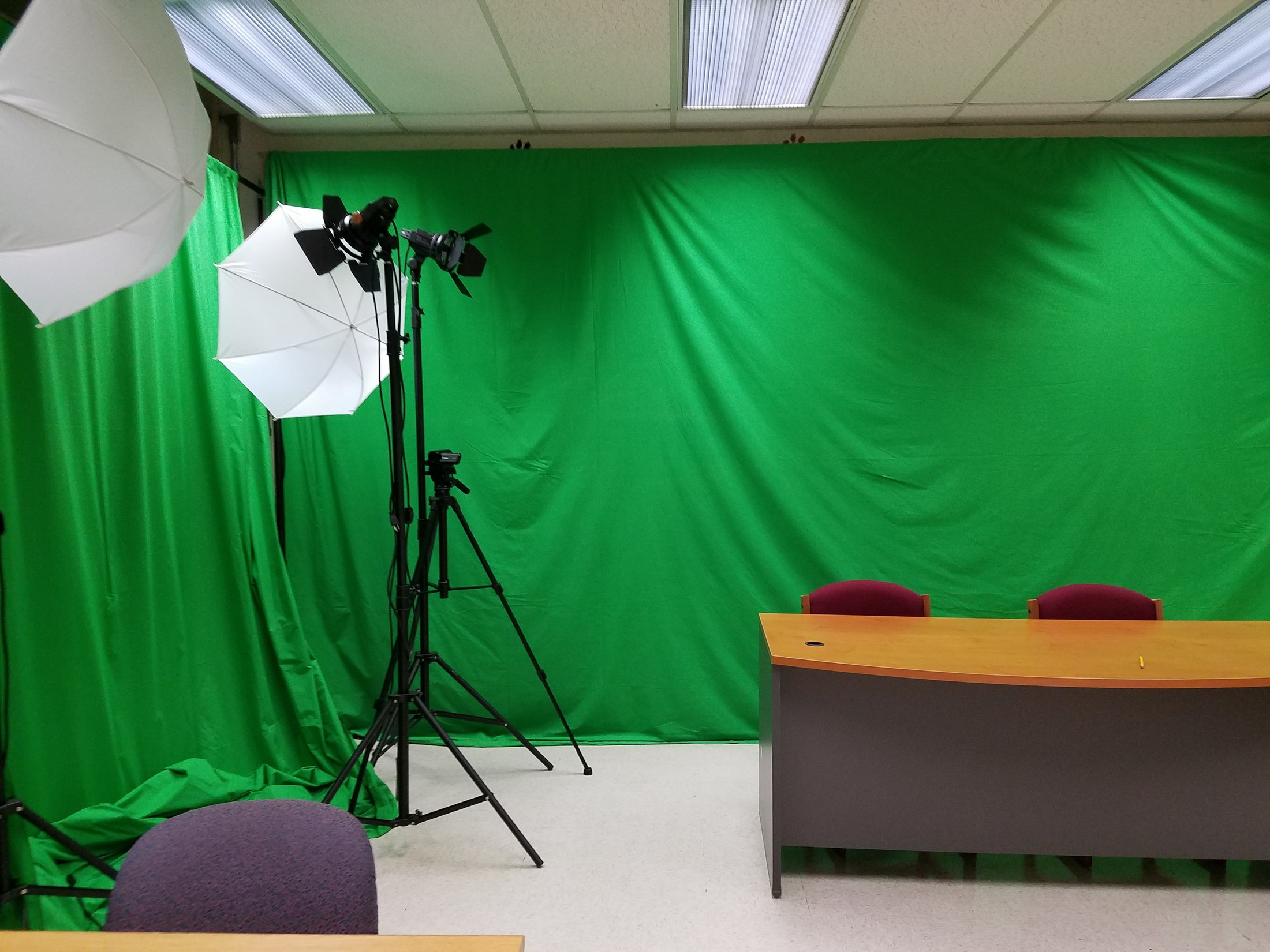 Digital film making room