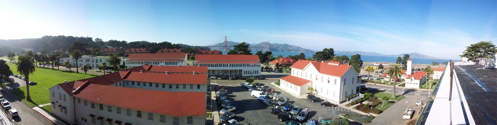 view from The Bay School