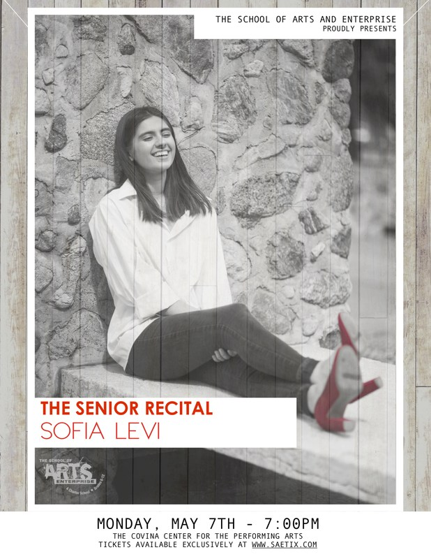 Senior Recital of Sofia Levi (Class of 2018) Featured Photo