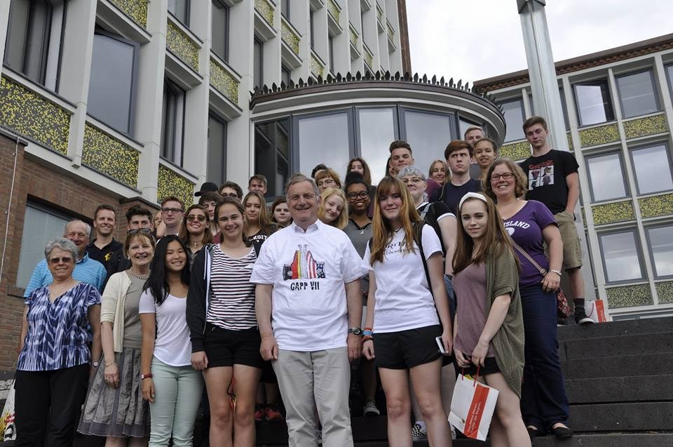 NKHS students in Germany