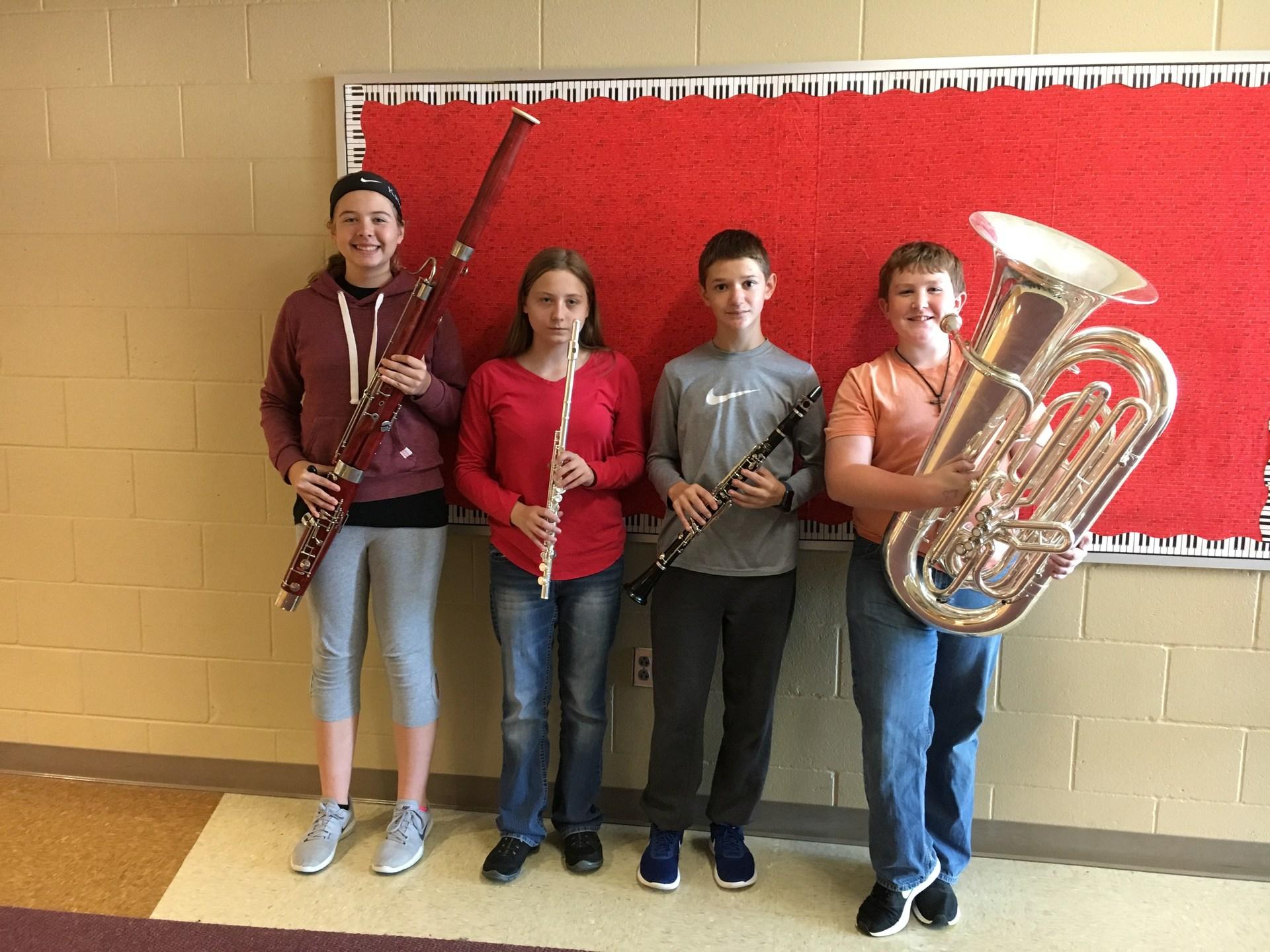 SCIBA Honor Band