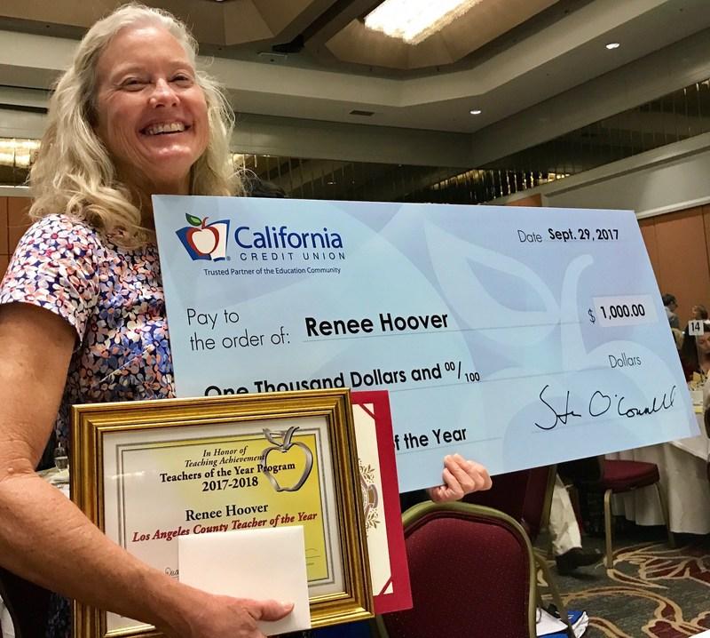Teacher of the Year Renee Hoover