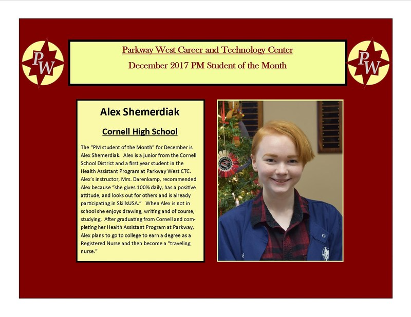Congratulations Alex Shemerdiak! Thumbnail Image