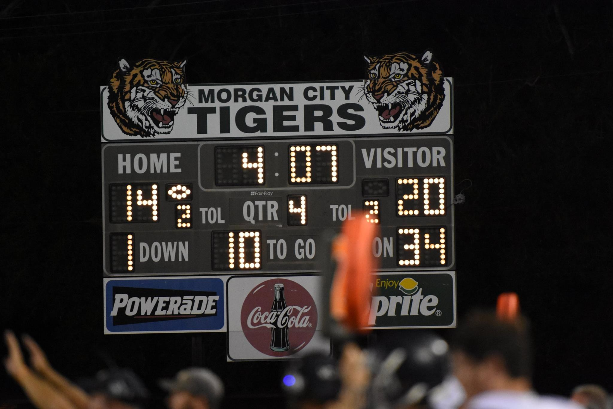 Back to Back wins over 4A Morgan City!
