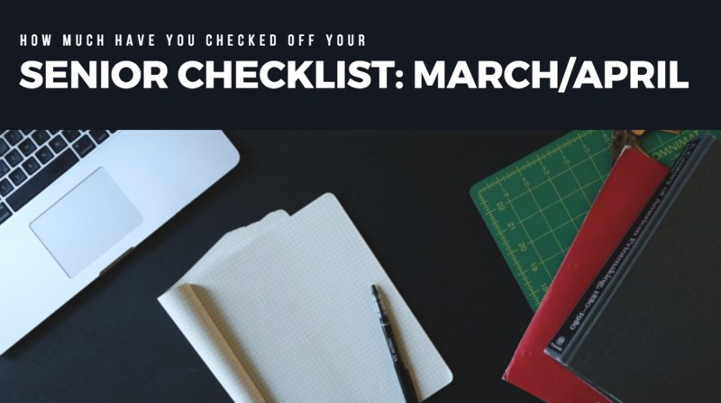 Senior Checklist for March/April Featured Photo