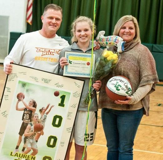 LC Community Celebrates Lauren Crim's 1,000 Points! Featured Photo