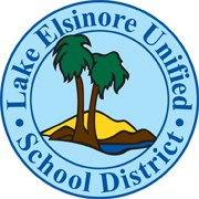 original logo of lake elsinore unified school district