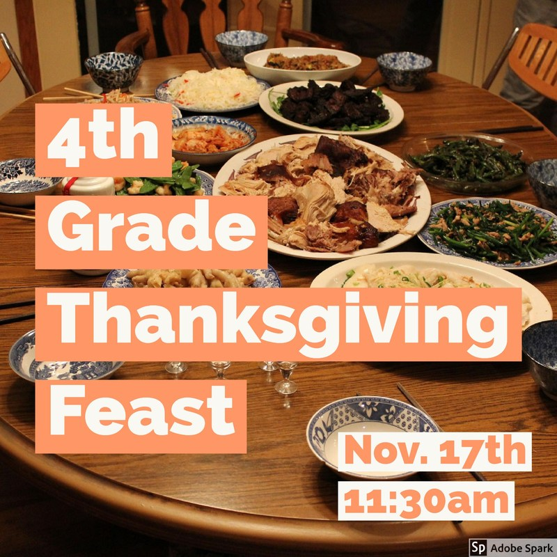 4th Grade Thanksgiving Feast Thumbnail Image