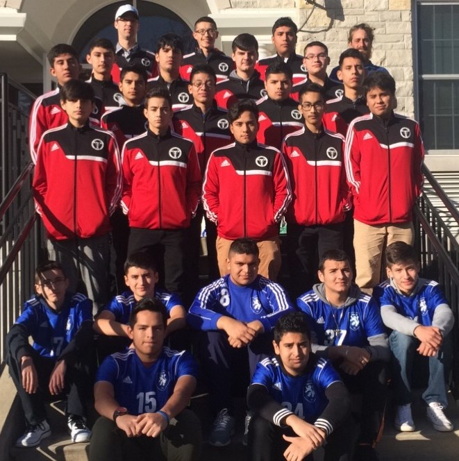 JV and Varsity Soccer Team