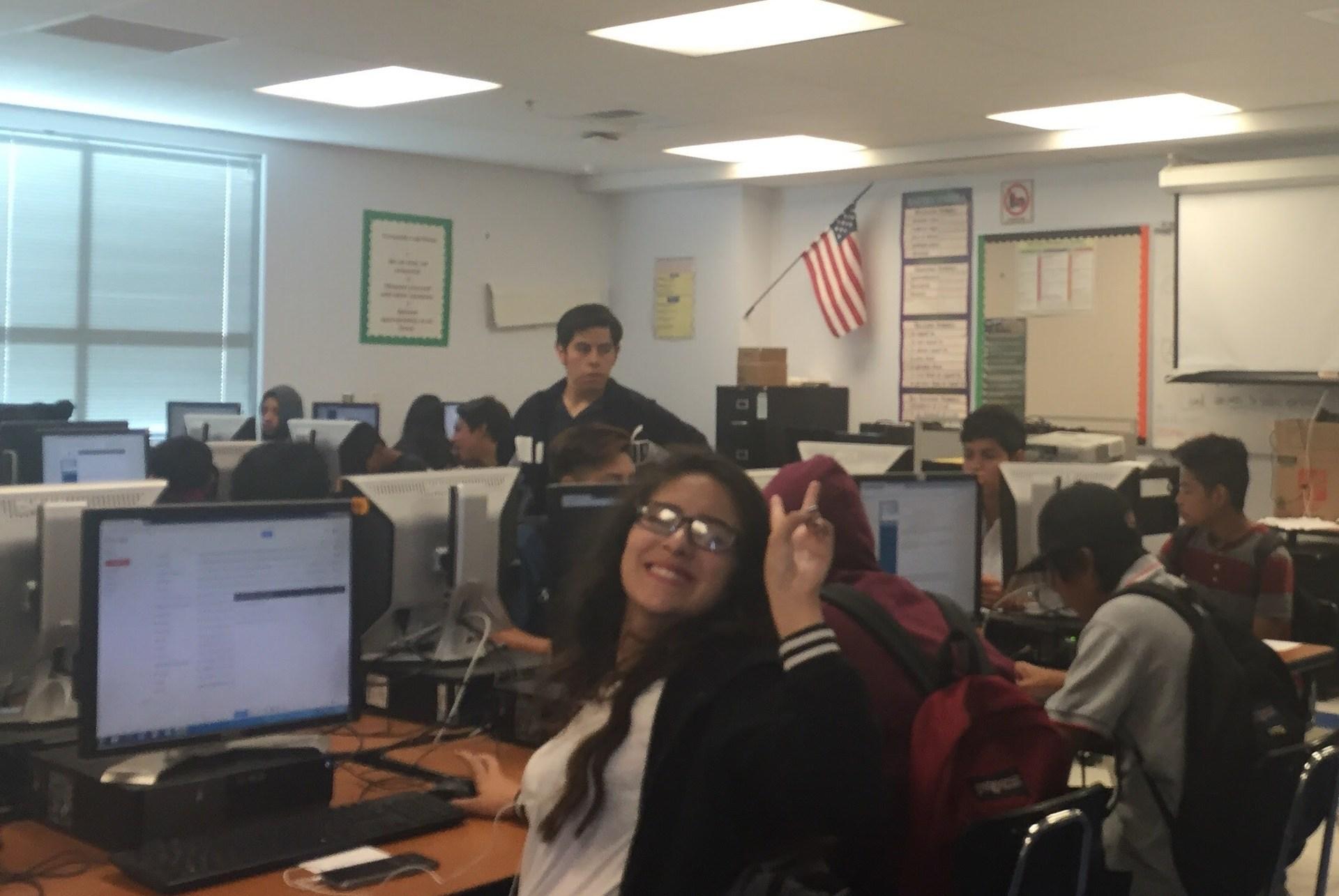 9th Grade computer lab 2016