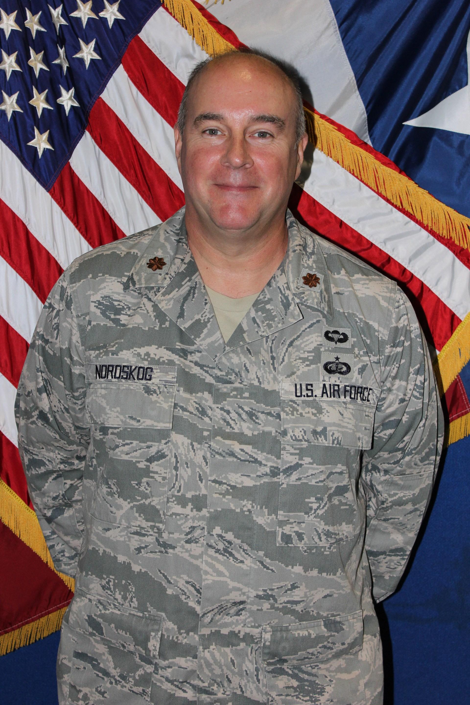 Major Craig Nordskog, TX-956 SASI