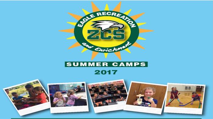 Registration open for Summer 2017 Eagle Recreation & Enrichment Camps/Classes Thumbnail Image