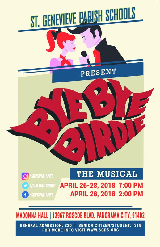 Bye Bye Birdie TICKETS NOW ON SALE! Featured Photo