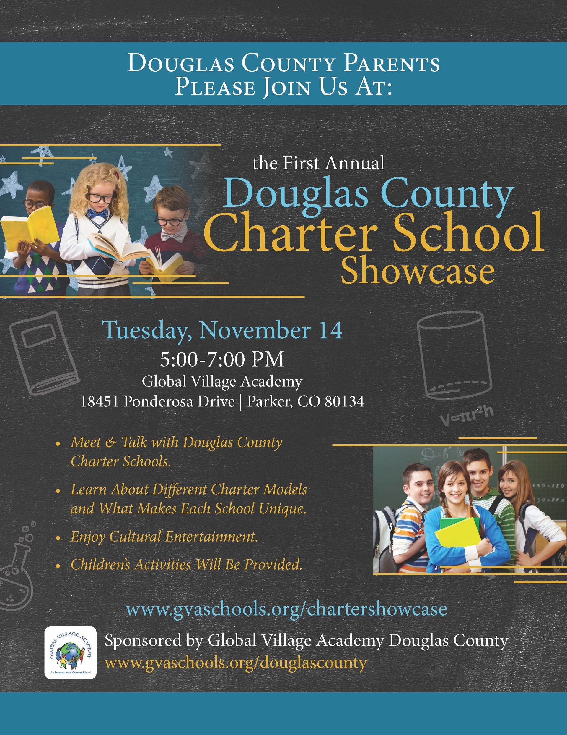 douglas county charter showcase flyer